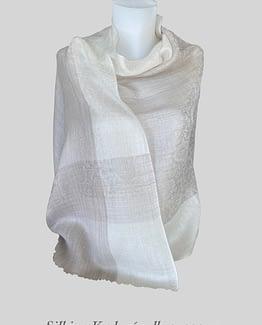Silki og Kashmir ull